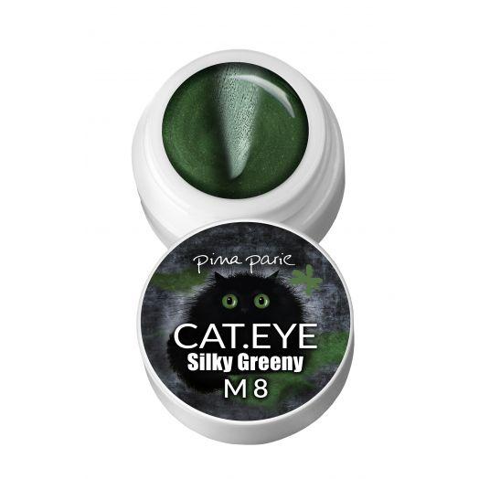 cat eye silky greeny