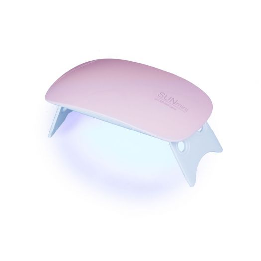 """UV-LED Lichthärtungsgerät """"mini"""" white/rosé"""