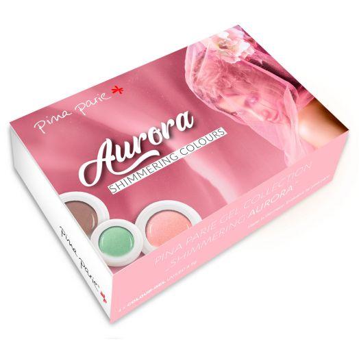 Set Aurora  - 4 x 5g Farbgel