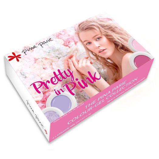 """Colourgelset """"Pretty in Pink"""" - Inhalt: 4 x 5g"""