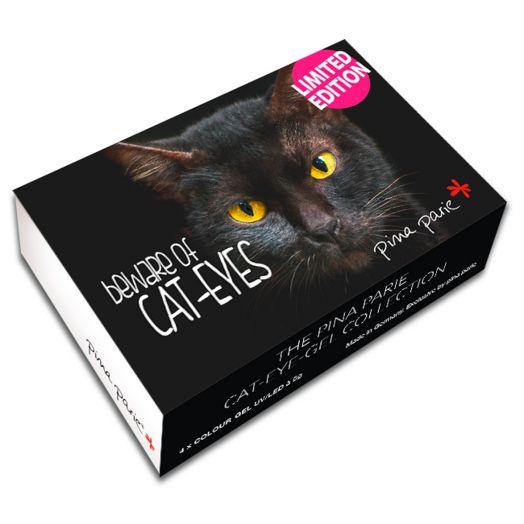 "Nail-Art Gelset ""Cat-Eye"" - Inhalt: 4 x 5g"