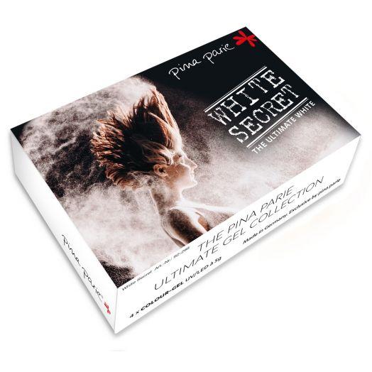 """Colourgelset """"White Secret"""" - Inhalt: 4 x 5g"""