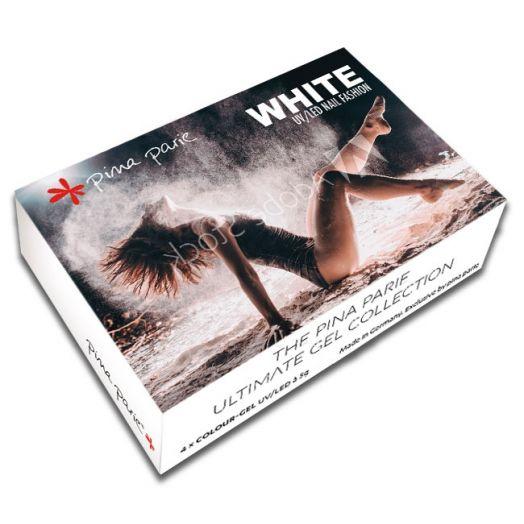 """Colourgelset """"White"""" - Inhalt: 4 x 5g"""