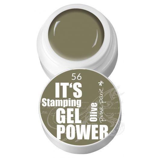 Stamping Gel 56 - Olive