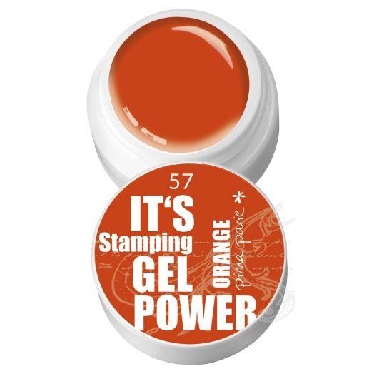 Stamping Gel 63 - Orange