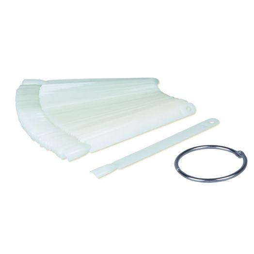 Tip-Ring (opaque) mit 50 Kunststoff-Tips
